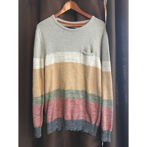Zanerobe Men's Gray Knit Sweater Size XL